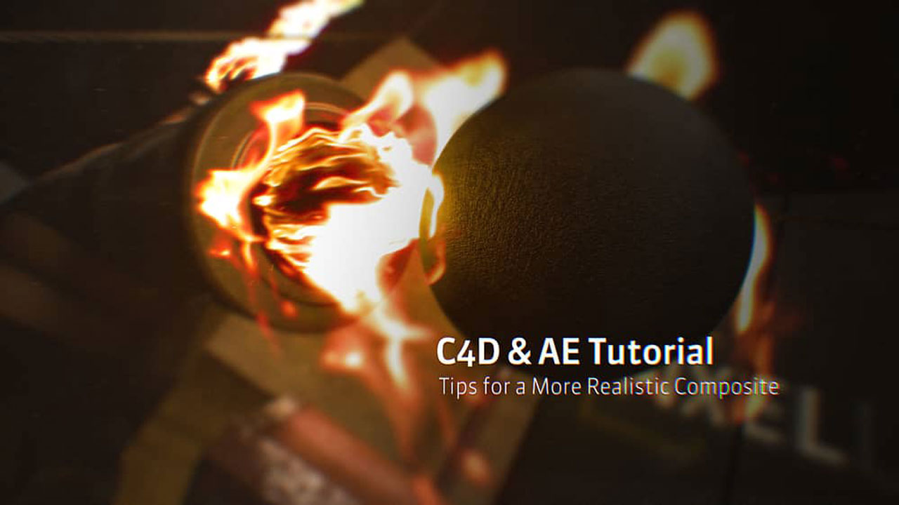 Tutorial: Cinema 4D and After Effects: Advanced Compositing Tips