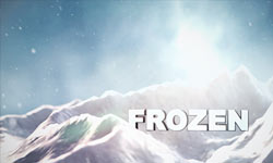 Snow Mountain Titles with Element 3D and Cinema 4D