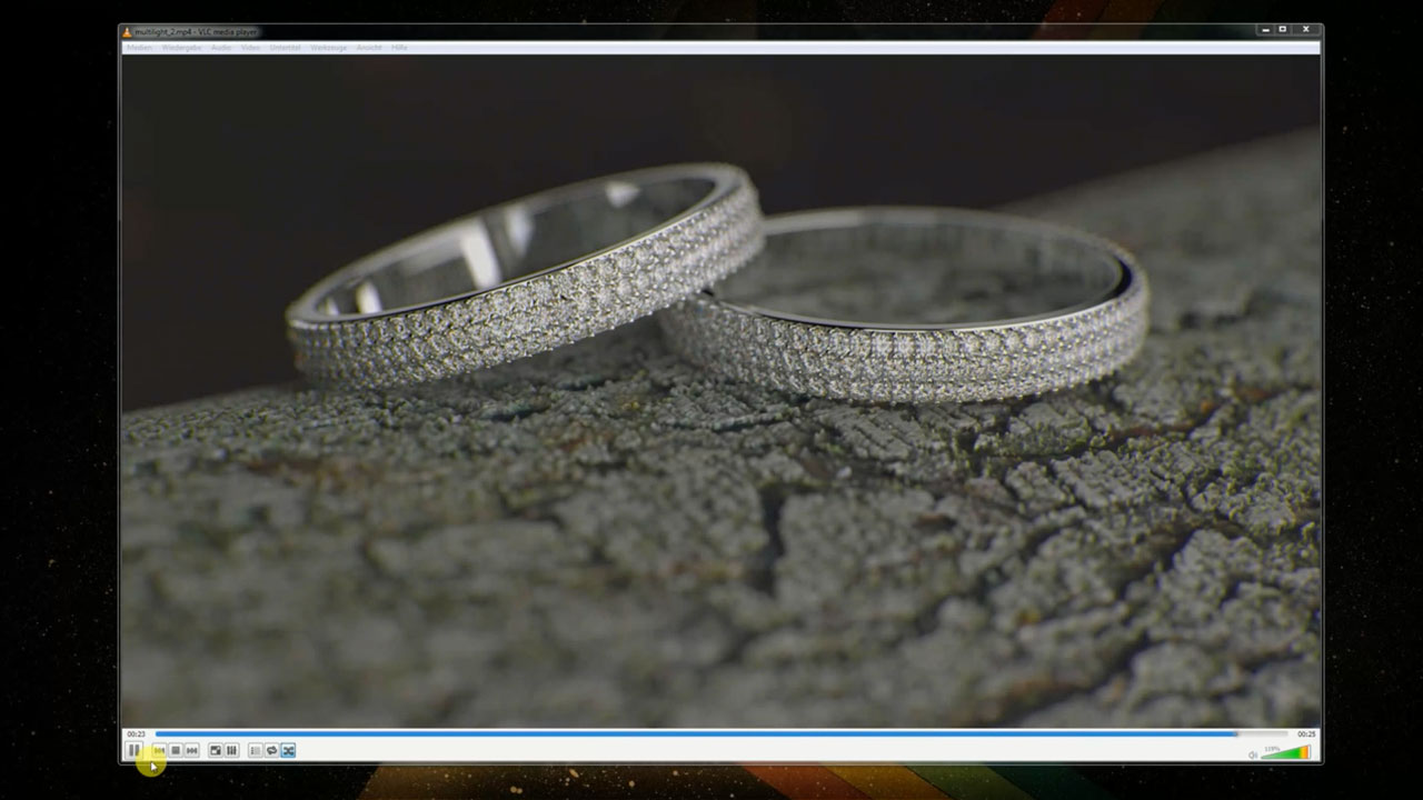 Jewelry / Product Shot Lighting in Maxwell Render for C4D / Part I & 2