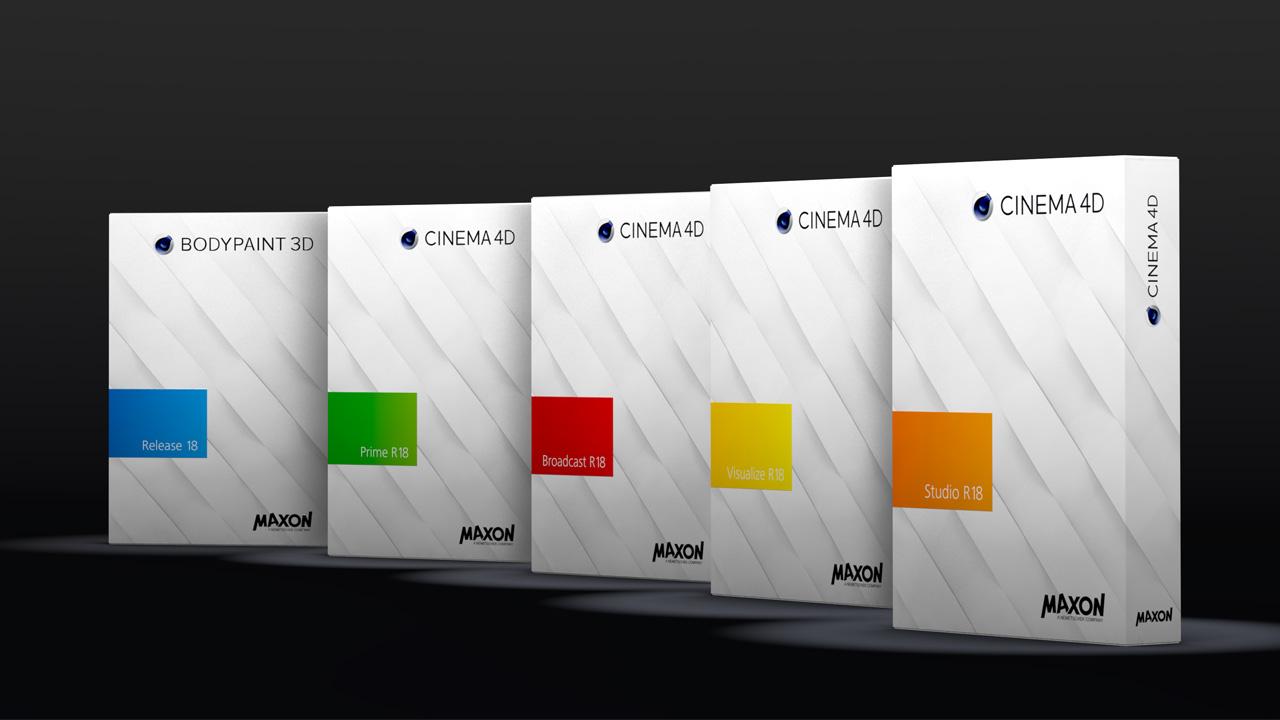 News: MAXON Announces Cinema 4D Release 18 - New Features