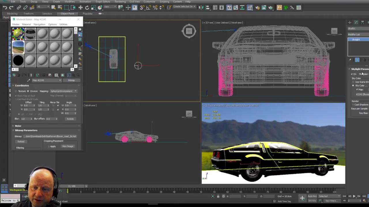 cebas finalRender trueHybrid: How to use Image Based Lighting to illuminate a scene