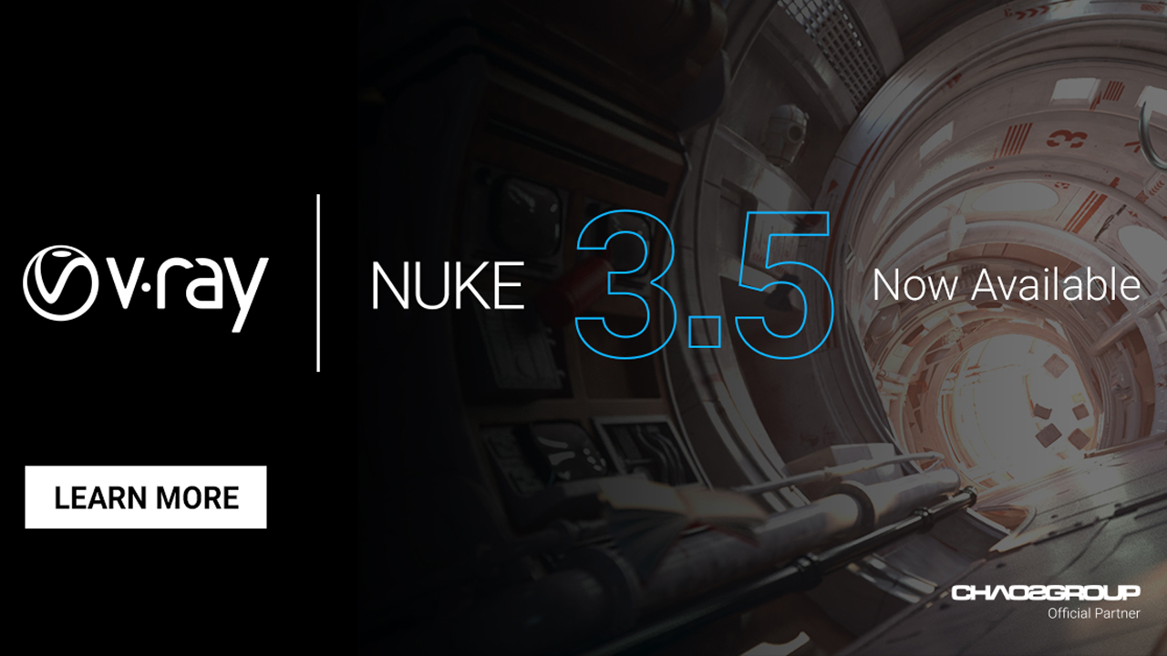 Update: Chaos Group V-Ray 3.5 for NUKE is Here