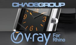 New: Chaos Group V-Ray for Rhino; More Chaos Group Products at Toolfarm