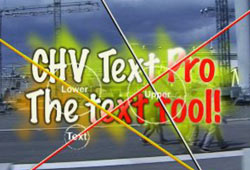 New: CHV Electronics Text FX 2.0