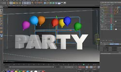 Tutorial: MAXON and After Effects Integration using CINEWARE- Party Balloons