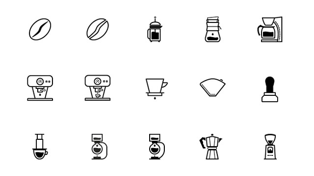 Freebie: Barista, Coffee Lovers Icon Set