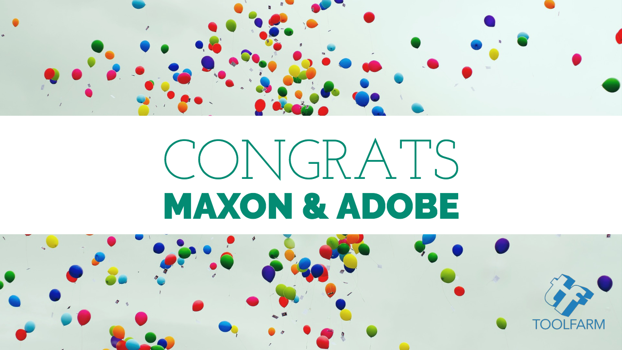 News: Congratulations to Maxon and Adobe on Technical Achievement Awards!