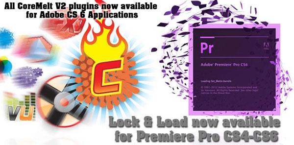 New: CoreMelt Products Adobe CS6 Compatible, Lock & Load for ...