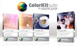 New: CrumplePop ColorKit Suite Products-  Powerful Color Grading for Final Cut Pro X