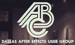 Event: Dallas After Effects User Group, May 23rd