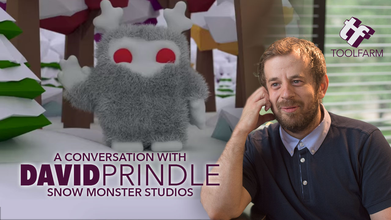 A Snow Monster, ZBrush and a Mission: A Conversation with David Prindle