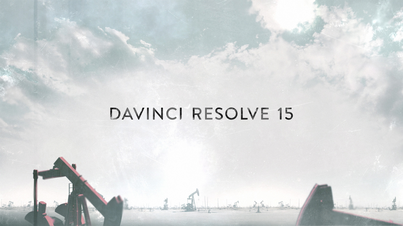 6 Davinci Resolve 15 Training Videos from Blackmagic Design