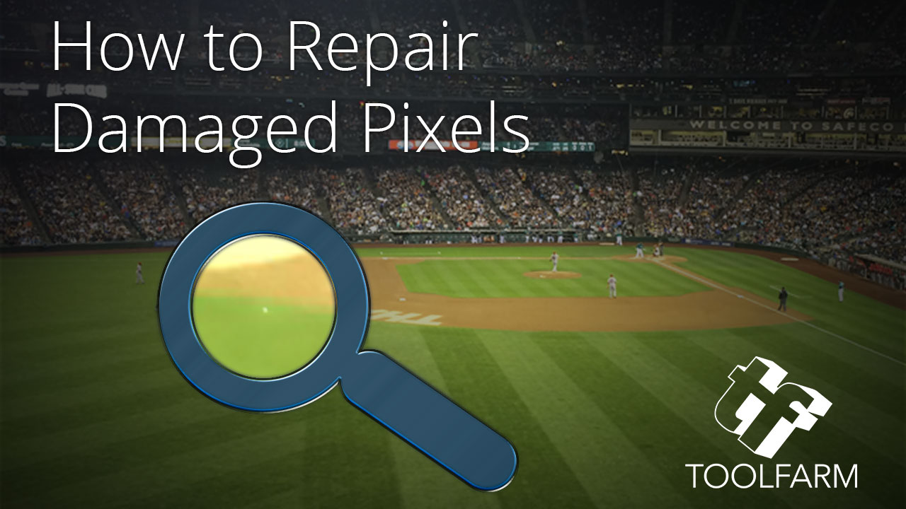In Depth: Repairing Damaged Pixels