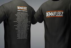 Freebie: Cinema 4D T-shirt Template