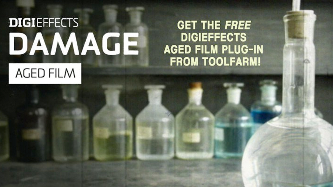Freebie: Download Aged Film Plug-in from Digieffects Damage For Free!