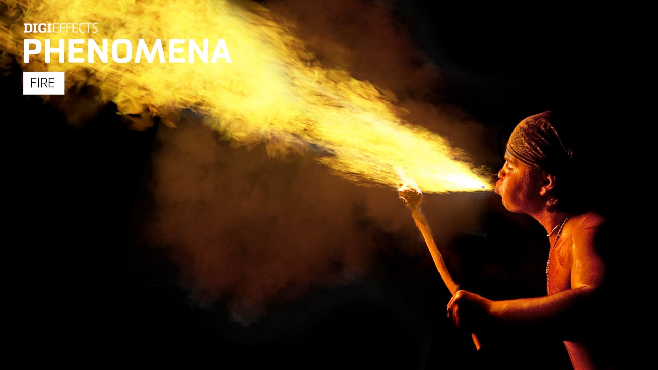 Digieffects: Fire from Phenomena #digieffects