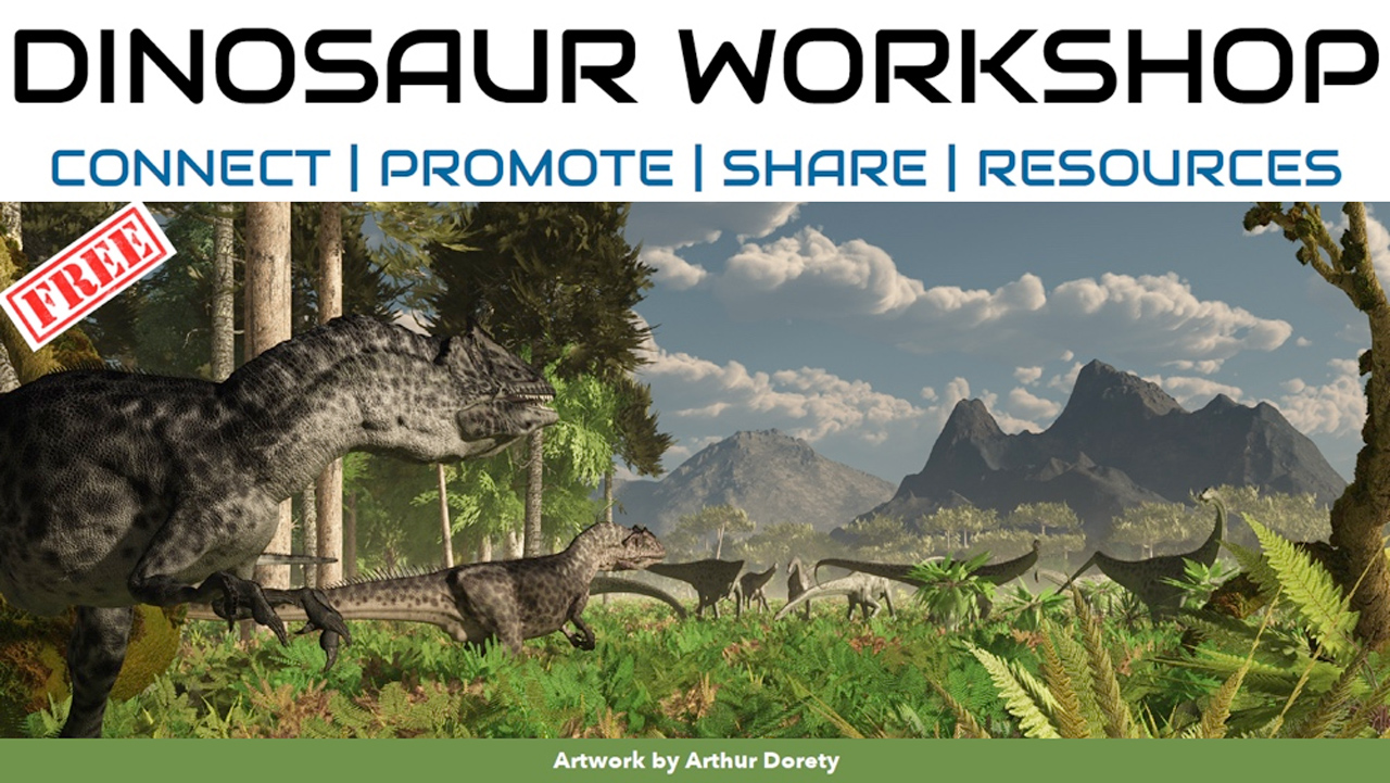 Webinar: Digital Art Live: Dinosaur Workshop | e-on Software – December 2, 2018