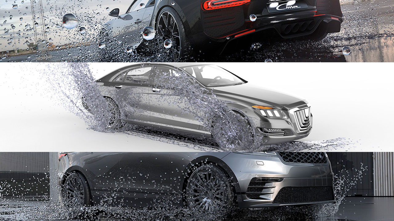 New: Dosch 3D: Car & Water Effects