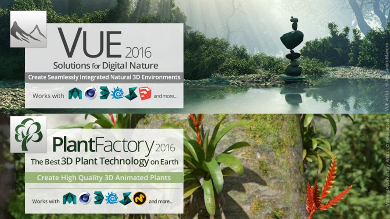 Sale Ending: e-on VUE and PlantFactory - 30% Off - Ends Today July 17, 2017