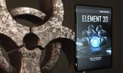 Element 3D: Beyond Basics; Importing Objects & Building Materials, Extruding Masks & Text