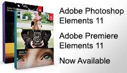 New: Adobe Photoshop Elements 11 & Premiere Elements 11 Now Available