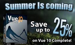 Sale: Save up to 25% on e-on Software Vue 10 Complete Through June 25 2012