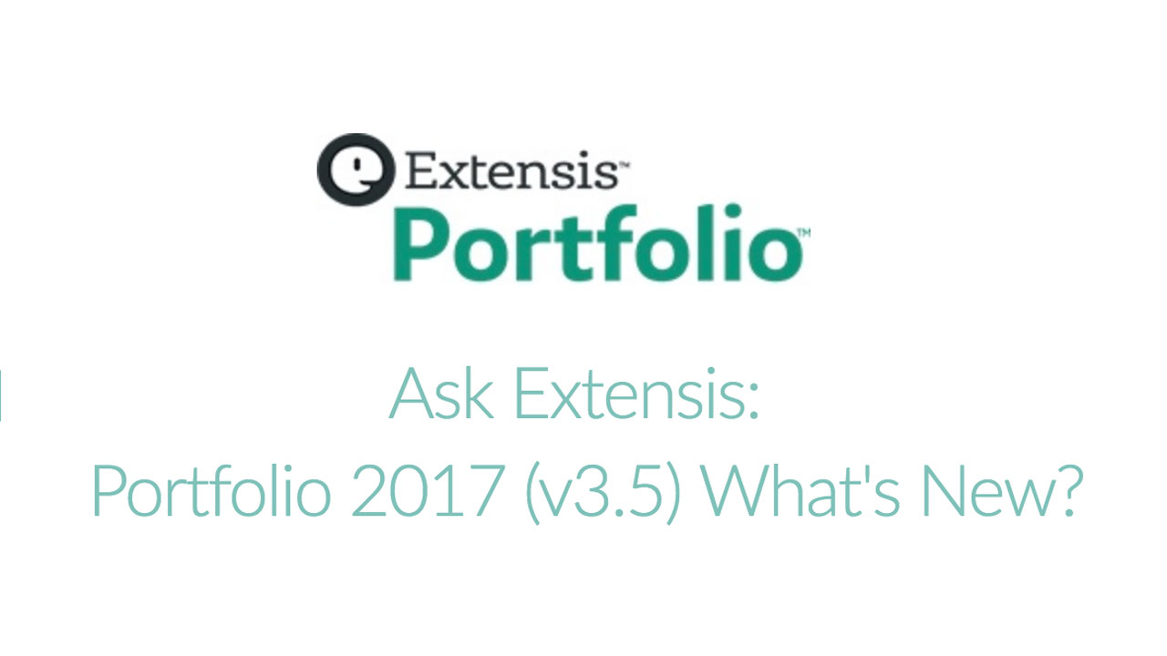 Webinar: Ask Extensis: Portfolio 2017 (v3.5) What's New? - Tuesday July 17, 2018