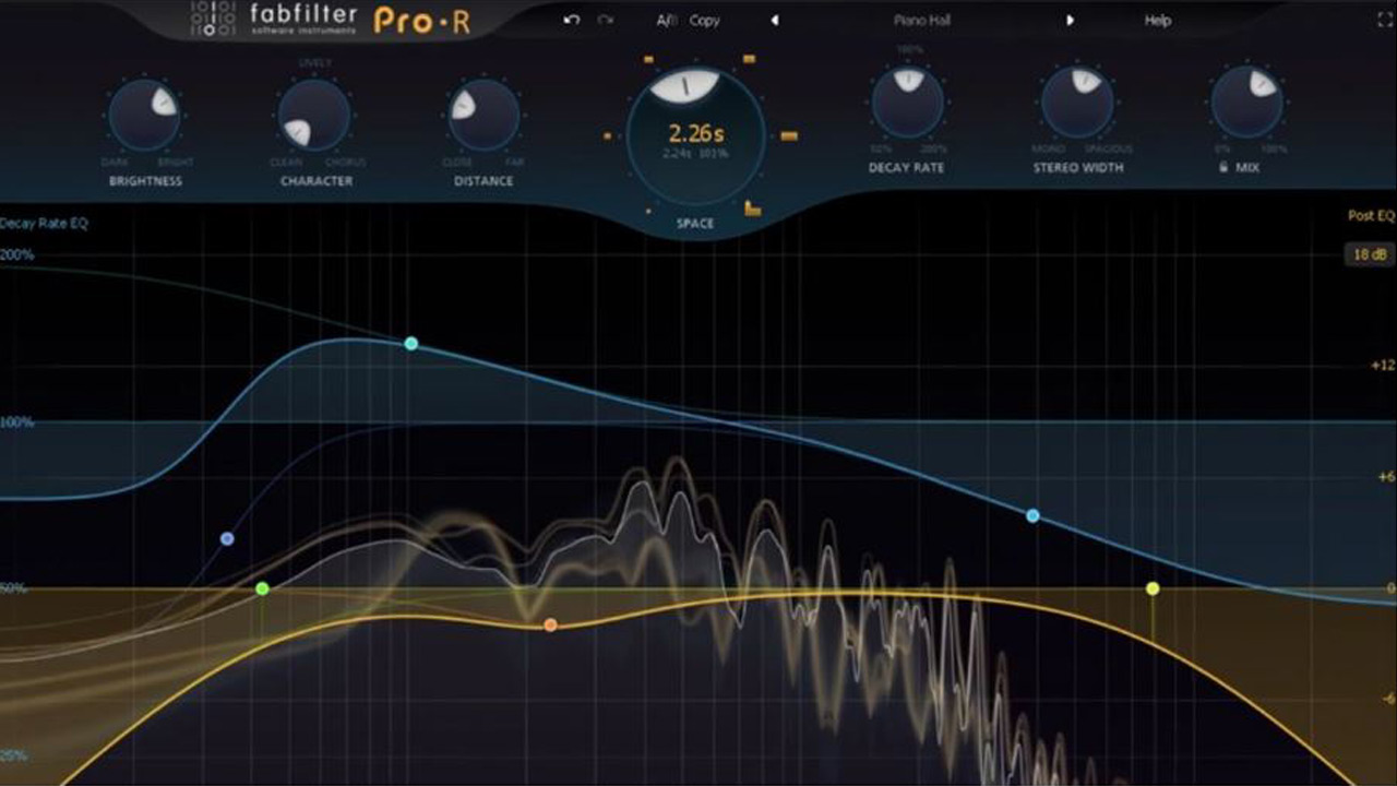 New: FabFilter Pro-R Audio Reverb Plug-in