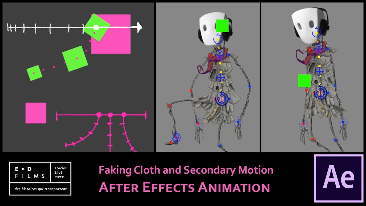 After Effects: Simulate Cloth Animation Expression