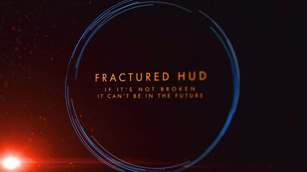 After Effects – Fractured HUD Title Sequence
