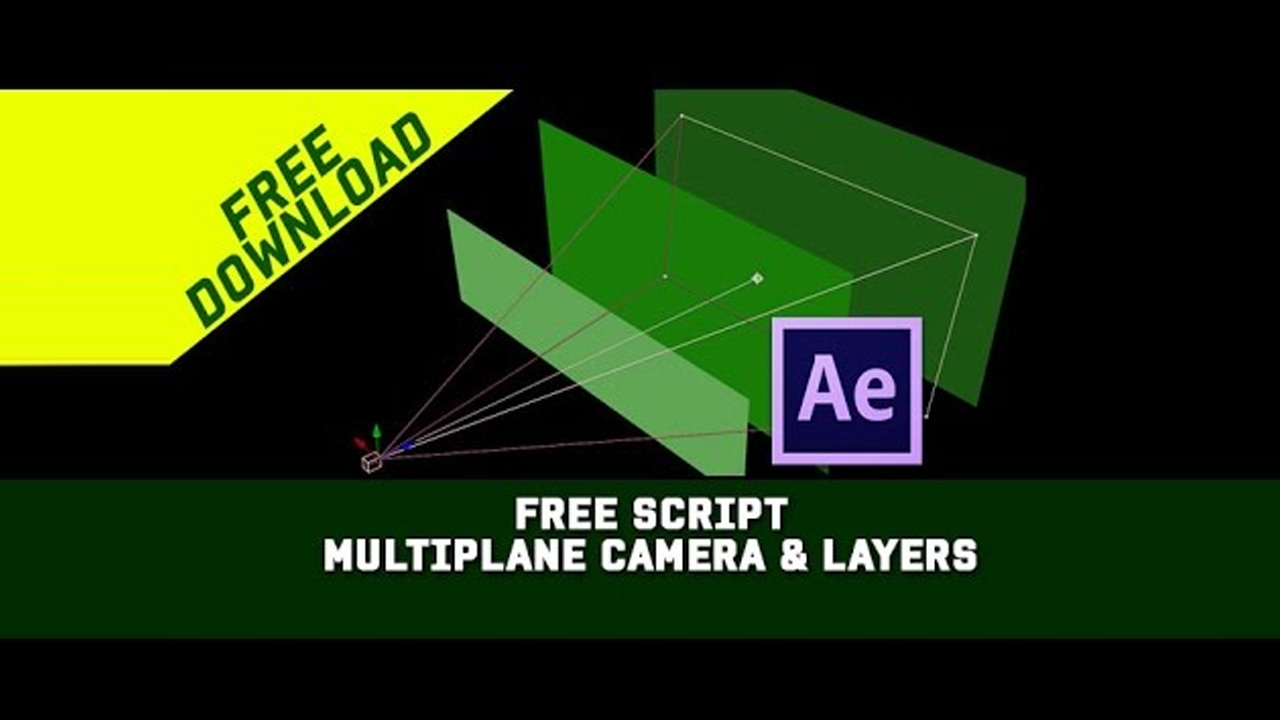 Freebie: After Effects Multiplane Tool for Easy 3D Layer Placement