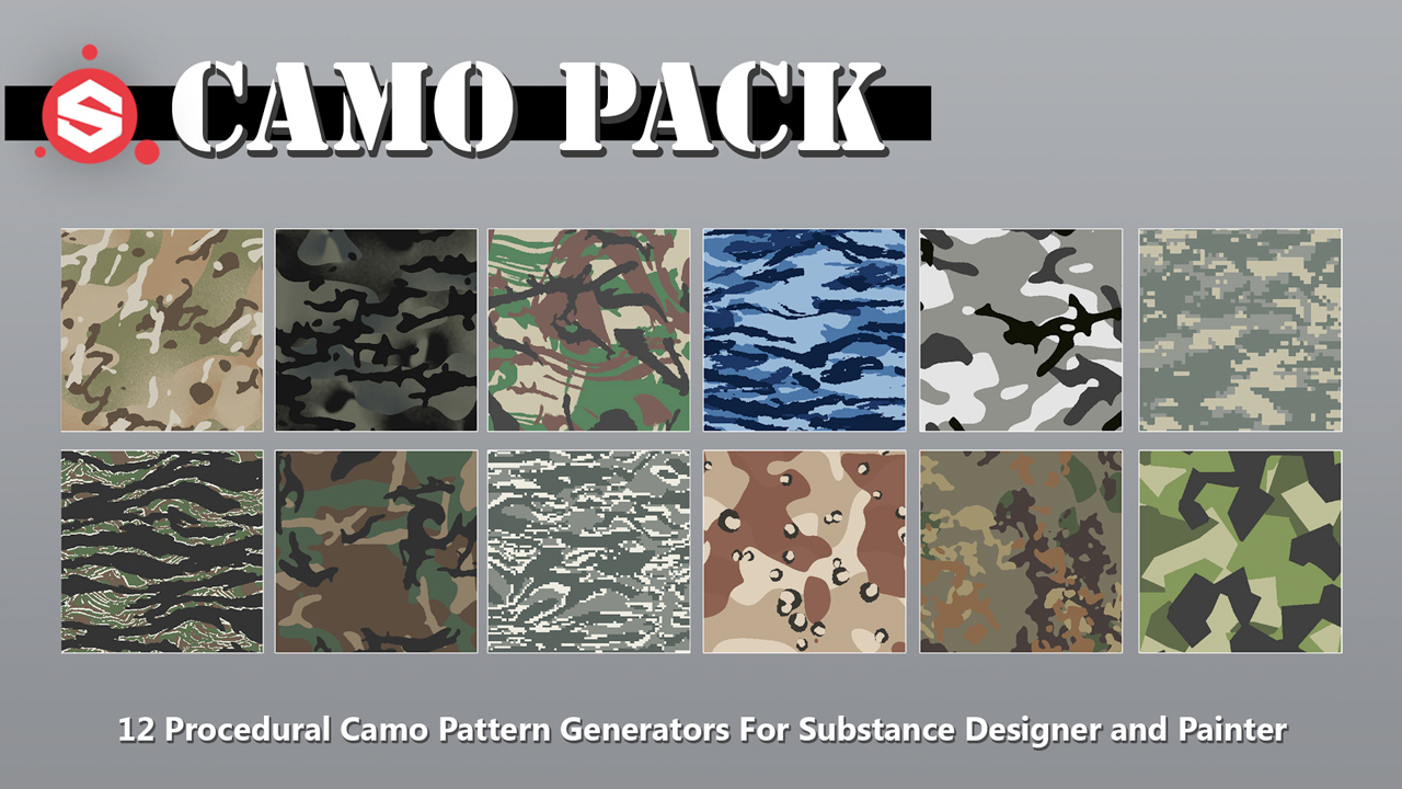 Freebie: Substance: Free Camo Pack