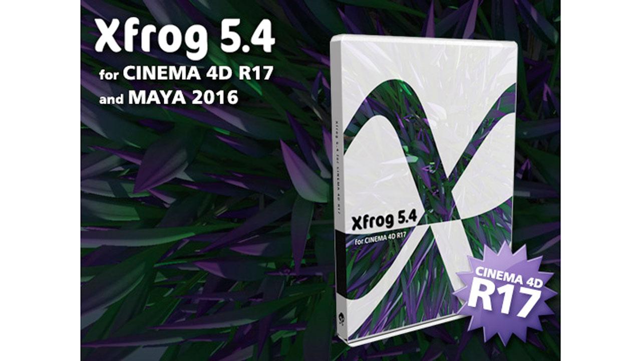 News: Xfrog for CINEMA 4D - Upgrade Info for R17