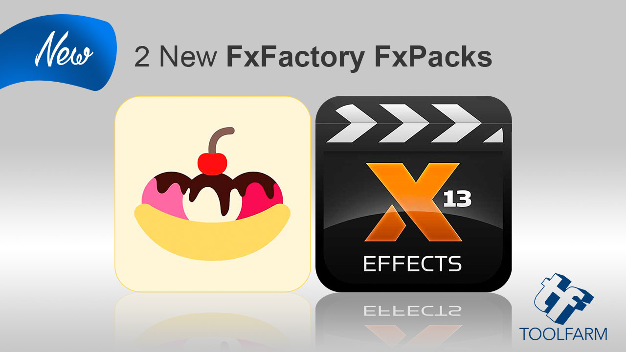 New: 2 FxFactory Products from idustrial revolution and Stupid Raisins