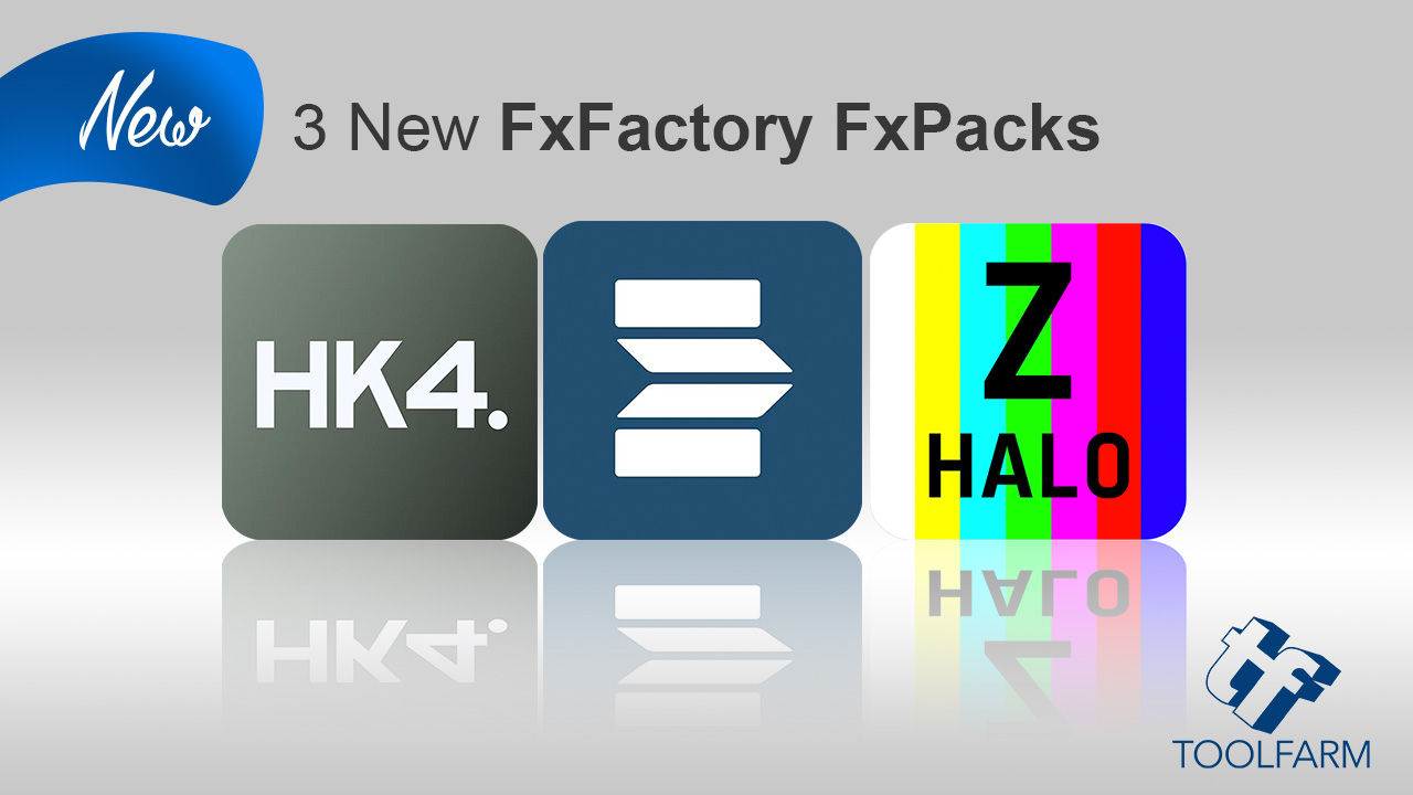New/Update: 3 FxFactory Products from Zoetrope, Hawaiki and CineFlare
