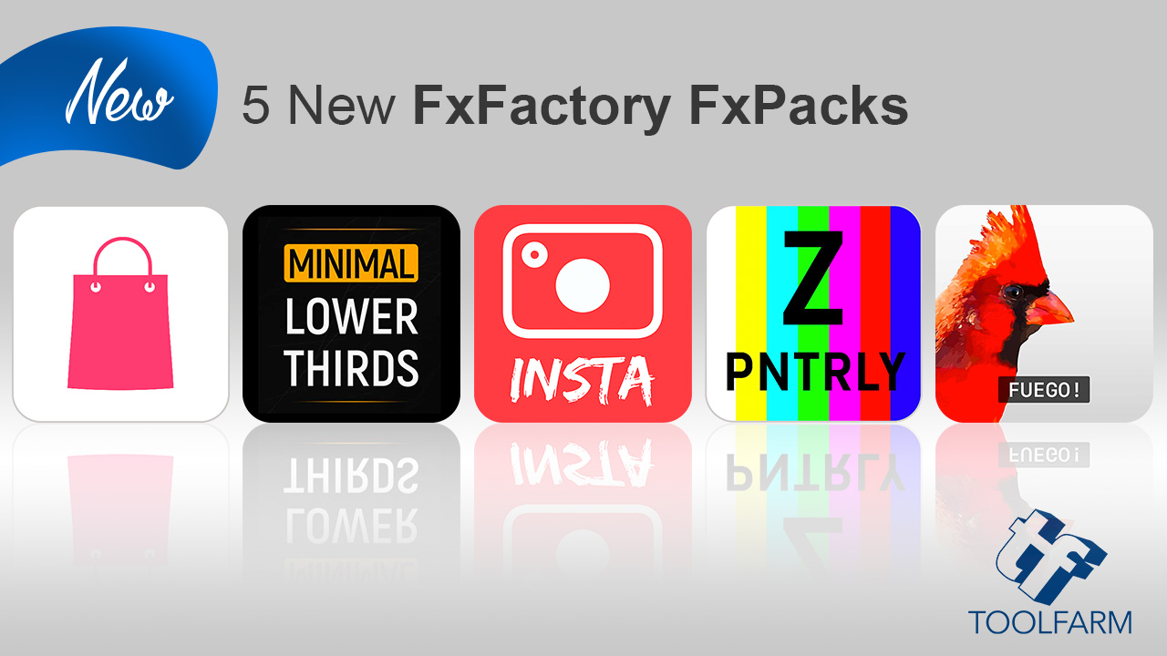 New: 5 New FCPX Plug-ins from Stupids Raisins, Zoetope, FxFactory, PremiumVFX