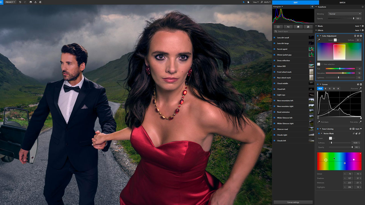 New: FXHOME Imerge Pro, Non-Destructive Image Editing