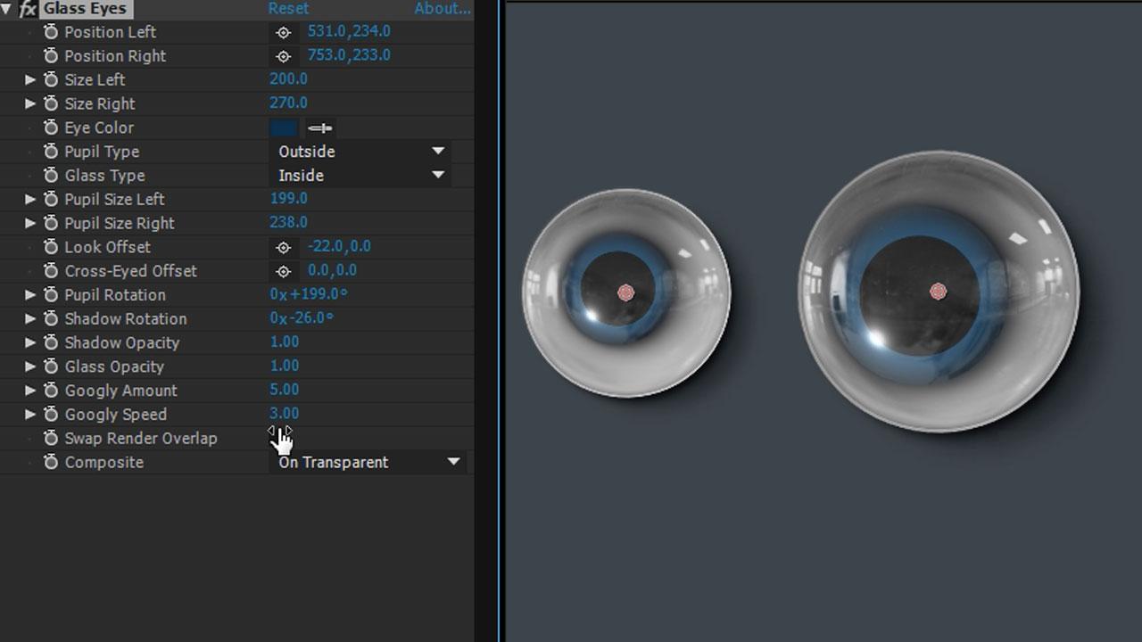 Freebie: Video Copilot Glass Eyes - Toolfarm