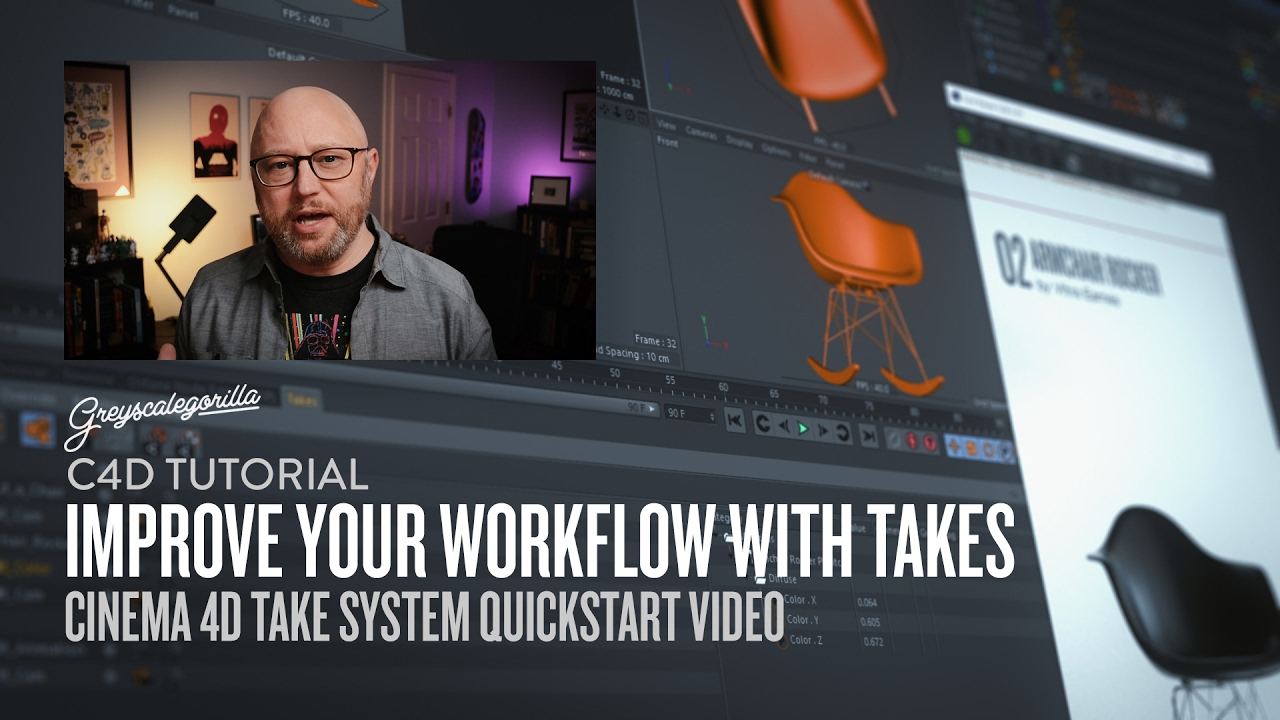 Improve Your Workflow with Cinema 4D's Take System