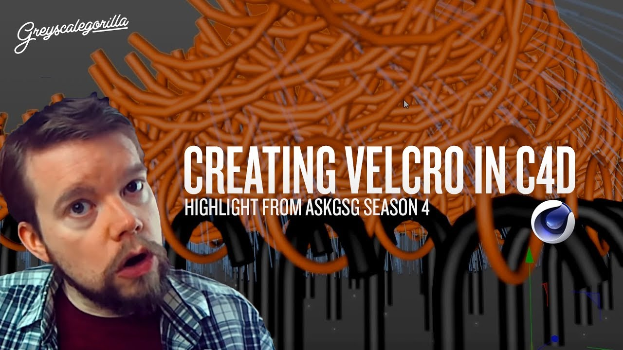 Cinema 4D: Recreating a Velcro Effect In Cinema 4D