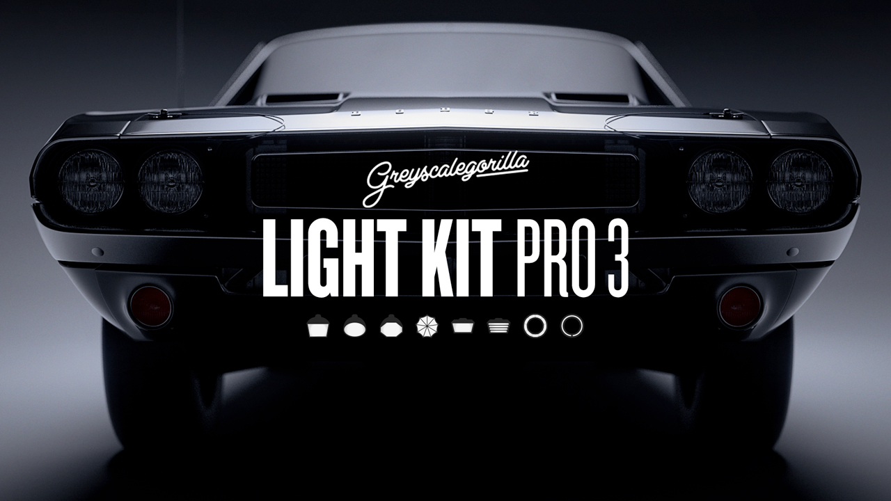 New: Greyscalegorilla Light Kit Pro 3 is Now Available