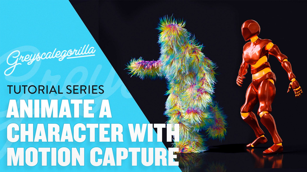 CINEMA 4D – Using Motion Capture Data to Create an Animated Character