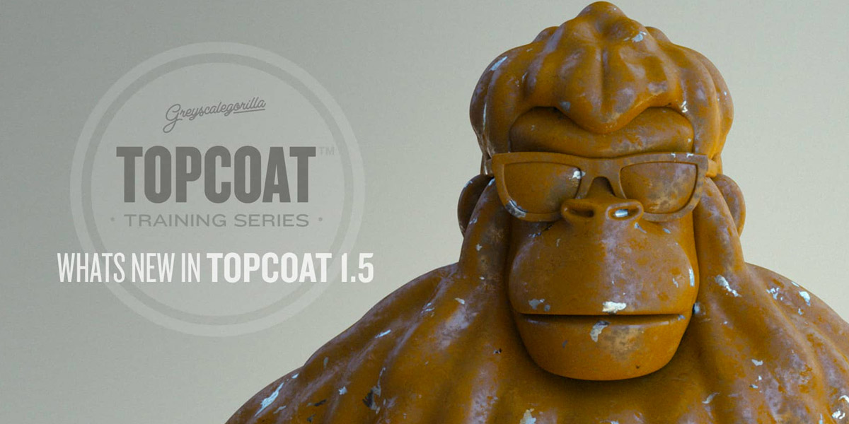 Update: Greyscalegorilla Topcoat 1.5 for CINEMA 4D Now Available – See What's New!