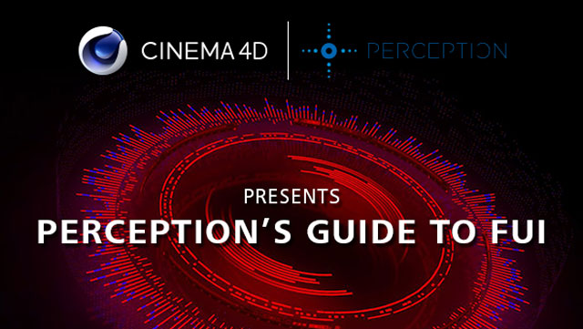 News: Designing FUI with Cinema 4D and PerceptionNYC