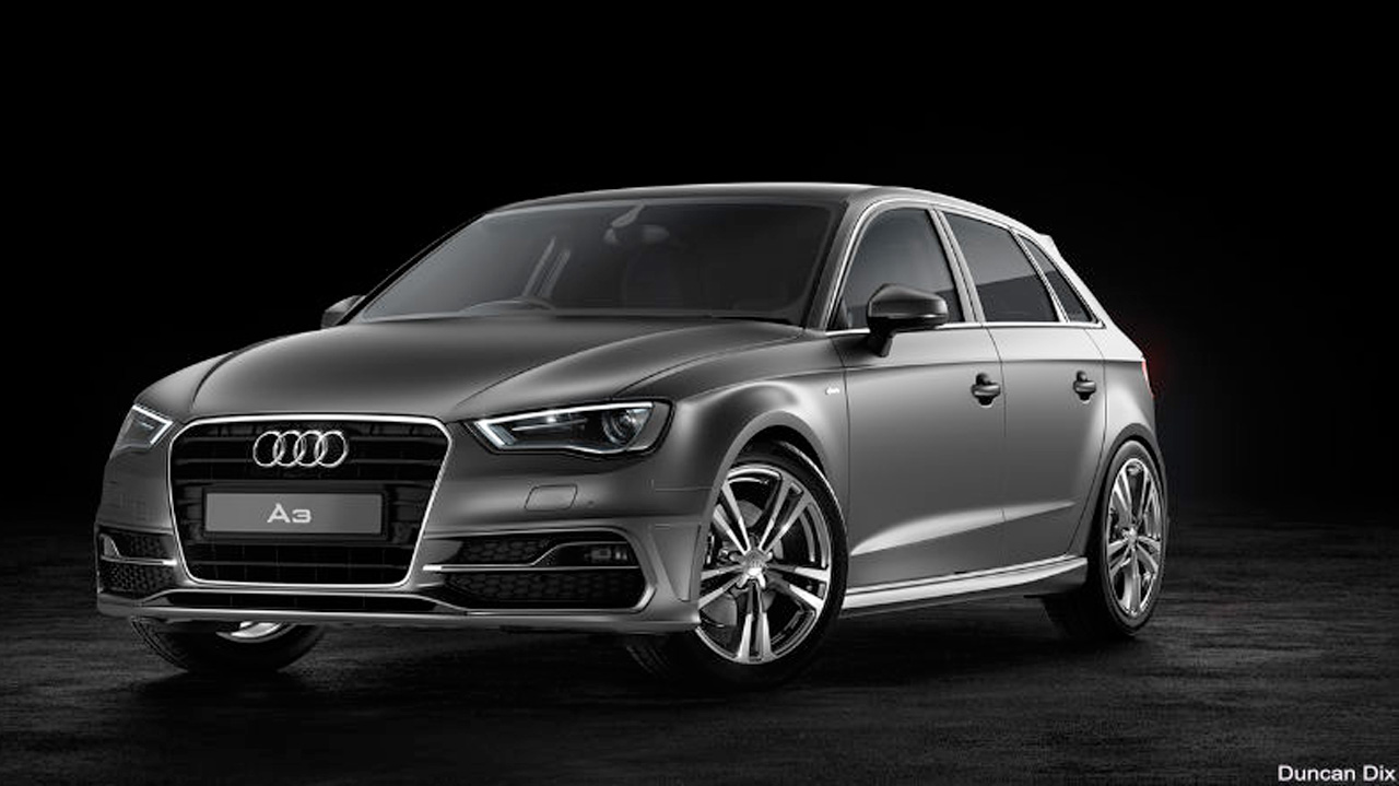 Midweek Motivation: Duncan Dix Audi A3 project lit with HDR Light Studio