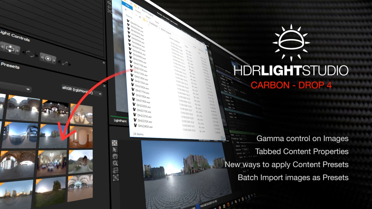 Update: Lightmap HDR Light Studio Carbon Drop 4 Now Available for Download