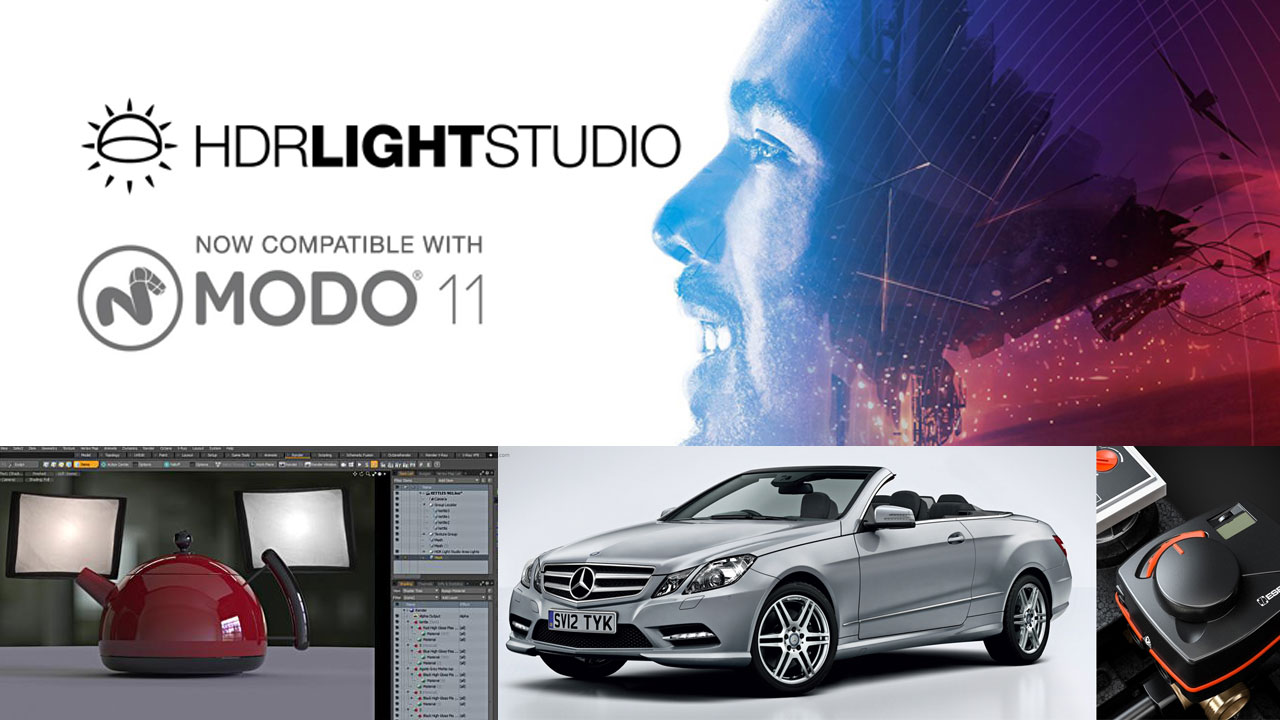 Update: Lightmap HDR Light Studio - Compatible with MODO 11 - Toolfarm
