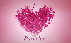 "Freebies: ""I Heart Particles"" After Effects Preset Using Trapcode Particular and Shine"