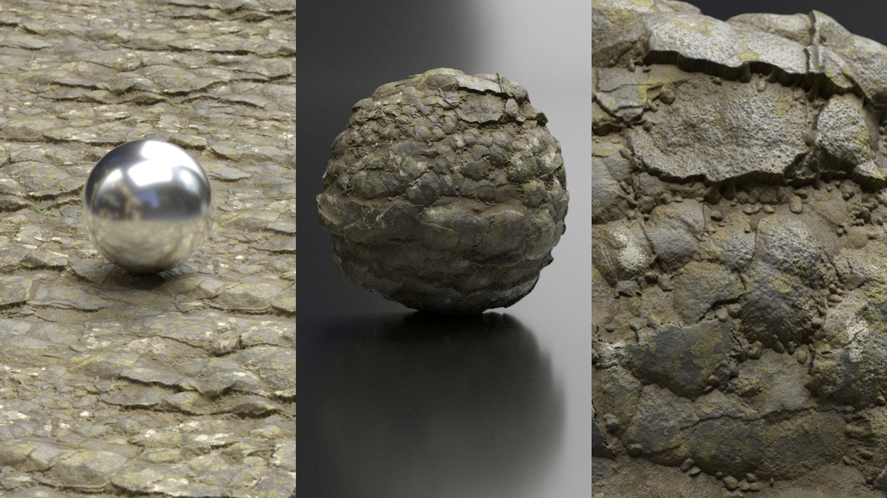 Freebie: Substance Source: Iceland Cliff Material - Toolfarm