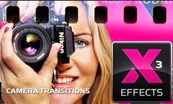 New: idustrial Revolution XEffects Camera Transitions for Final Cut Pro X